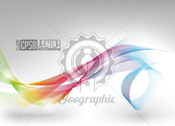 Vector dynamic winding design background - Royalty Free Vector Illustration