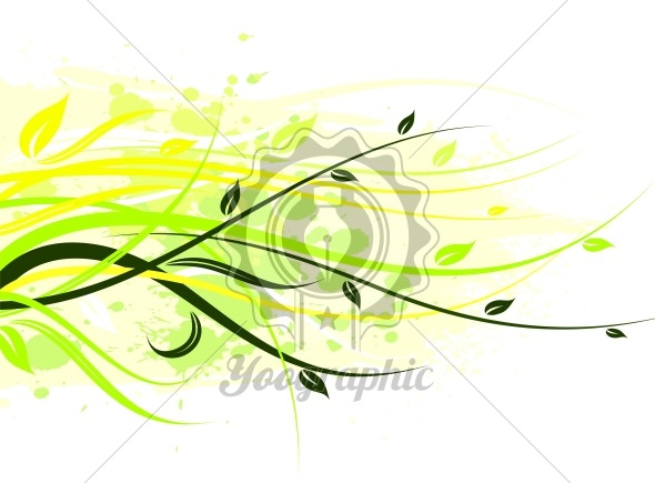 vector floral illustration - Royalty Free Vector Illustration
